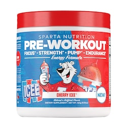Sparta Nutrition Pre-Workout Cherry ICEE 264g