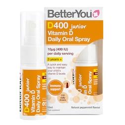 BetterYou D400 Junior Vitamin D Daily Oral Spray 15ml
