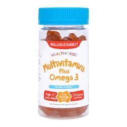 Holland & Barrett Healthy Kids Multivitamins plus Omega 3 30 Softies
