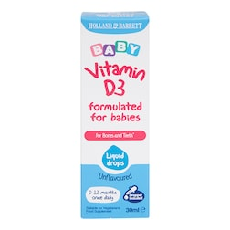 Holland & Barrett Baby Vitamin D3 Drops 30ml