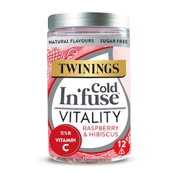 Twinings Cold In'Fuse Vitality with Vitamin C 12 Infusers