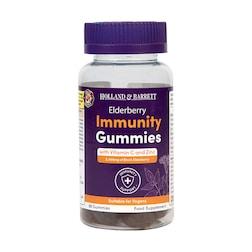 Holland & Barrett Elderberry Immunity 30 Gummies