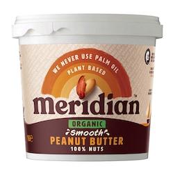 Meridian Organic Peanut Butter Smooth 1kg
