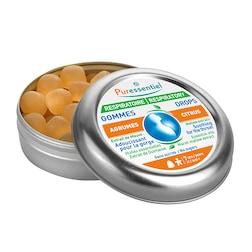Puressentiel Respiratory Citrus Flavour 45 Gum Drops