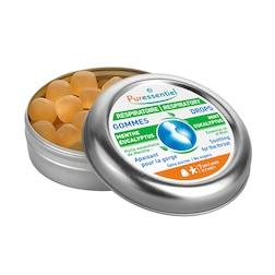 Puressentiel Respiratory Mint & Eucalyptus Flavour 45 Gum Drops