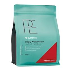 PE Nutrition Simply Whey Strawberry 600g