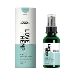 Love Hemp 1200mg CBD Spray Natural 30ml