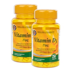 Holland & Barrett Vitamin D3 500 Tablets 25ug
