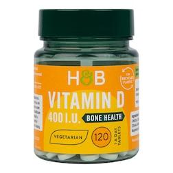 Holland & Barrett Vitamin D3 400 I.U. 120 Tablets