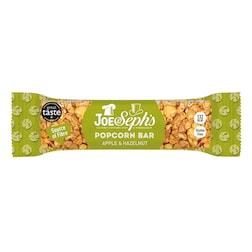 Joe & Sephs Apple & Hazelnut Popcorn Bar 27g