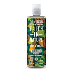 Faith in Nature Shea & Argan Shampoo 400ml