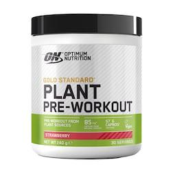 Optimum Nutrition Gold Standard Plant Pre-Workout Strawberry 240g
