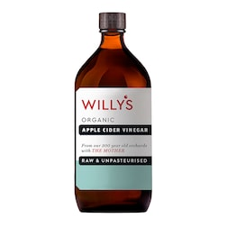 Willy's Organic Apple Cider Vinegar With The Mother 1L