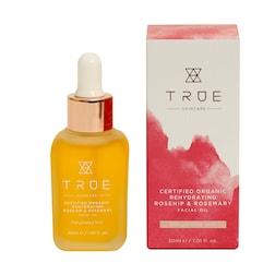 True Skincare Organic Rehydrating Rosehip & Rosemary Facial Oil 30ml