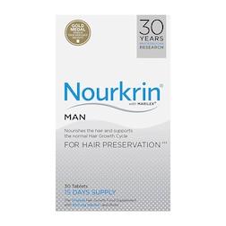 Nourkrin Man Hair Preservation 15 Days Supply 30 Tablets