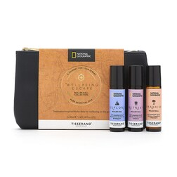 Tisserand National Geographic Wellbeing Escape Roller Ball Collection 3x 10ml