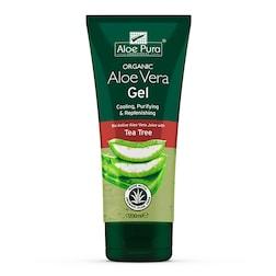 Aloe Pura Optima Organic Aloe Vera Gel With Tea Tree 200ml