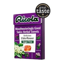 Ricola Elderflower Swiss Herbal Sweets Box 45g