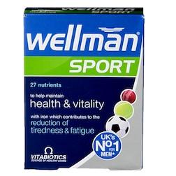 Vitabiotics Wellman Sport 30 Tablets