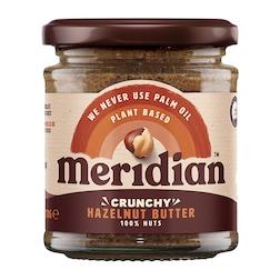 Meridian Natural Hazelnut Butter Whole Nut Spread 170g