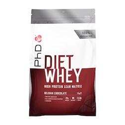PhD Diet Whey Powder Belgian Chocolate 1000g