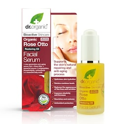 Dr Organic Rose Otto Facial Serum 30ml
