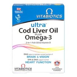 Vitabiotics Ultra Cod Liver Oil 60 Capsules