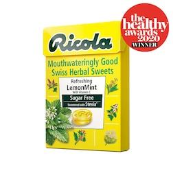 Ricola Lemon Mint Herbal Sweets Box 45g
