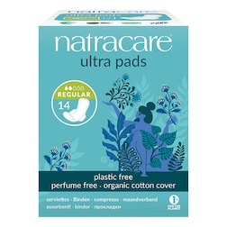 Natracare Natural Organic Ultra Pads with Wings 14 Normal