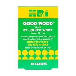 HRI Good Mood St John's Wort 30 Tablets
