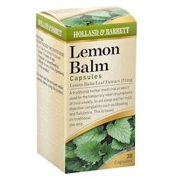 Holland & Barrett Lemon Balm 171mg 30 Capsules