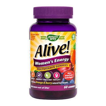 Vitamins For Energy >> Nature S Way Alive Womens Energy Soft Jells