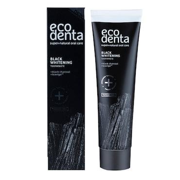 Ecodenta Extra Black Whitening Toothpaste with Black Charcoal & Teavigo