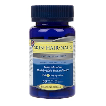 Holland Barrett Skin Hair Nails Formula Caplets