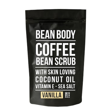 Bean Body Vanilla Coffee Bean Scrub