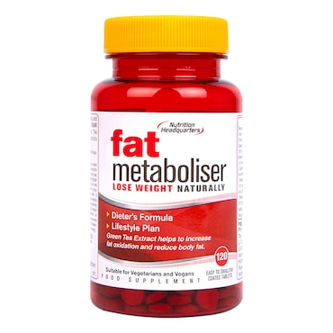 Nutritional Headquarters Fat Metaboliser Tablets
