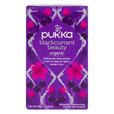 Pukka Organic Blackcurrant Beauty Fruit Tea