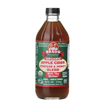 Bragg Apple Cider Vinegar with Honey and The Mother
