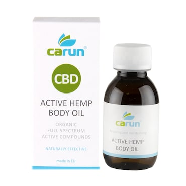 Carun CBD Active Hemp Body Oil