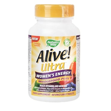 Vitamins For Energy >> Nature S Way Alive Women S Ultra Energy Multi Vitamin Energy 60 Tablets
