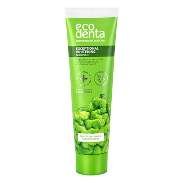 Ecodenta Whitening Toothpaste with Bergamot & Lemon