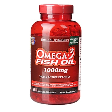 H&B Omega 3 Fish Oil Capsules | Holland & Barrett