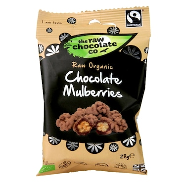 The Raw Chocolate Company Raw Chocolate Mulberries