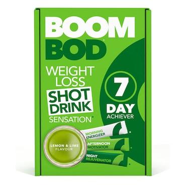 Boombod 7 Day Achiever 21 Sachets Lemon Lime Flavour