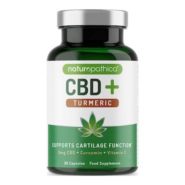 Naturopathica CBD+ Turmeric Capsules