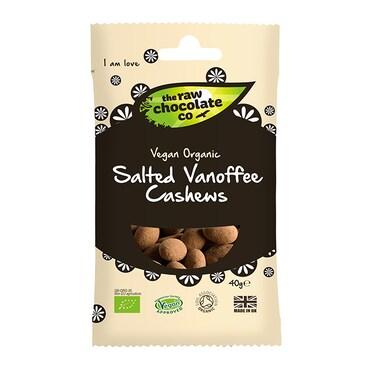 The Raw Chocolate Company Vanoffee Cashew Raw Snack