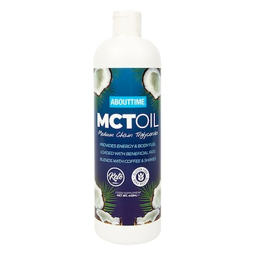 About Time Mct Oil 480ml Holland Barrett