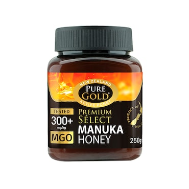 Pure Gold Premium Select Manuka Honey MGO 300