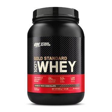Optimum Nutrition Gold Standard 100% Whey Powder Chocolate 908g now £22.49 was £44.99
