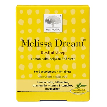 New Nordic Melissa Dream Tablets